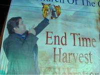 Pastor Shahzad End Times Harvest Poster